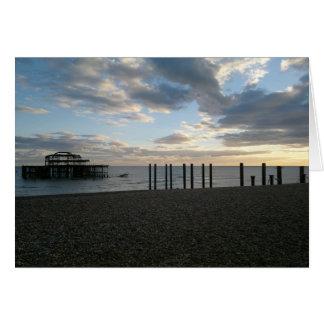 Carte Pilier occidental abandonné Brighton