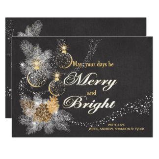 Carte Pinecone ornemente Noël de tableau