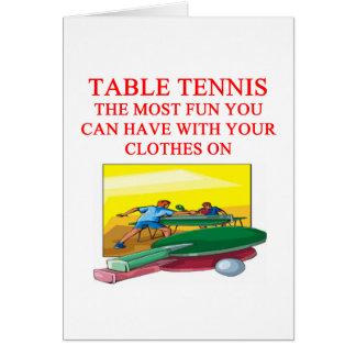 Carte ping-pong