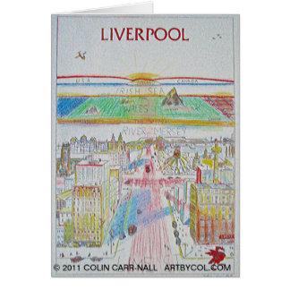 Carte Piscine de Liverpool de la vie conçue par Colin