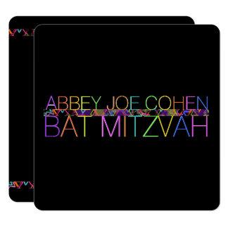 Carte PixDezines DIYcolors/néon/bat mitzvah
