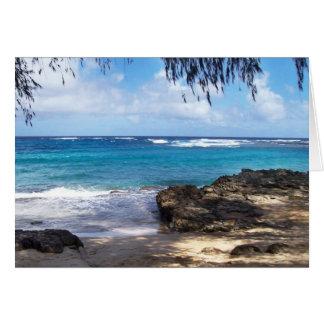 Carte Plage d'Hawaï