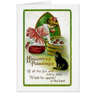Carte Plaisirs de Hallowe'en