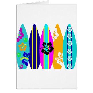 Carte Planches de surf