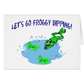 Carte Plongement de Froggy