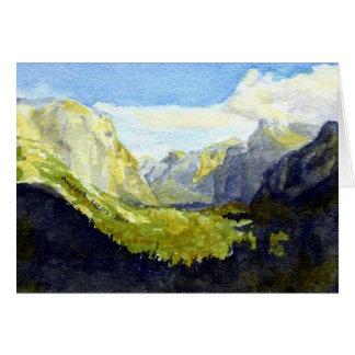 Carte Point d'inspiration, Yosemite : Salutations de
