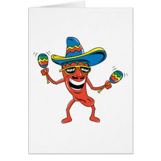 Carte Poivre de piment mexicain