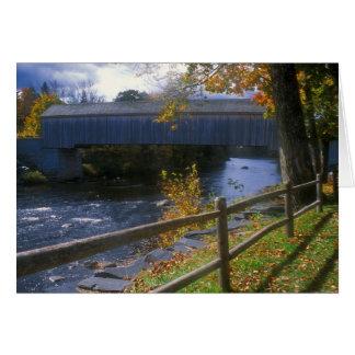 Carte Pont couvert Guilford Sangerville Maine de Lowes