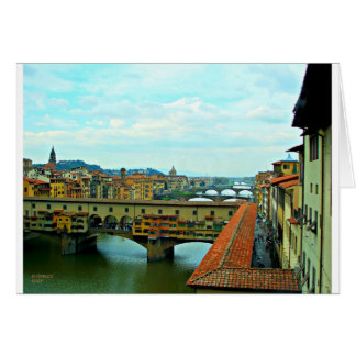 Carte Pont d'achats de Florence, Italie