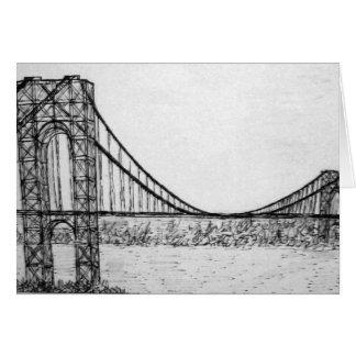 Carte Pont de George Washington