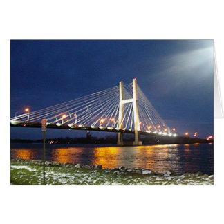 Carte Pont du fleuve Mississippi