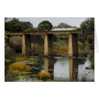 Carte Pont en rail d'Allansford, Australie