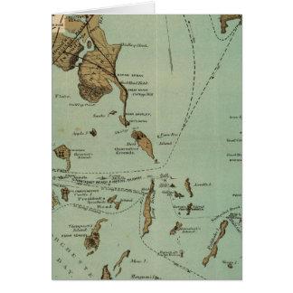 Carte Port de Boston