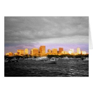 Carte Port Shoreline de Boston