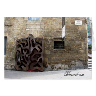 Carte porte Barcelone de g/nc Barcelone Gaudi