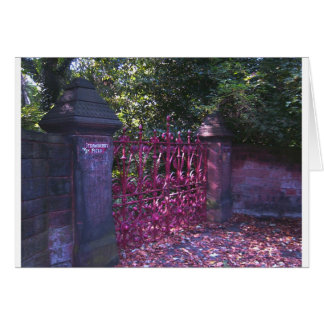 Carte Portes de gisement de fraise, Liverpool R-U