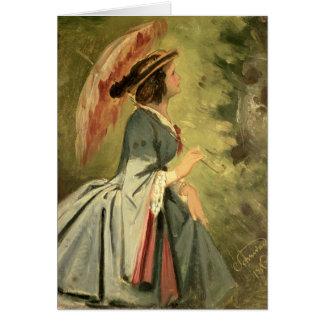 Carte Portrait d'Anna, la fille de l'artiste, 1860