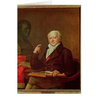 Carte Portrait de DES Marets de Jean Nicolas Corvisart