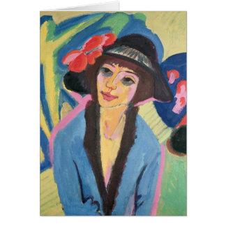 Carte Portrait de Gerda