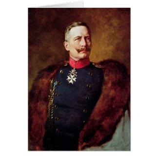 Carte Portrait de Kaiser Wilhelm Ii