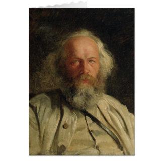 Carte Portrait de Mikhail Alexandrovich Bakunin 1871