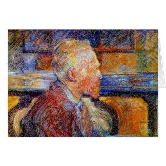 Carte Portrait de Vincent van Gogh
