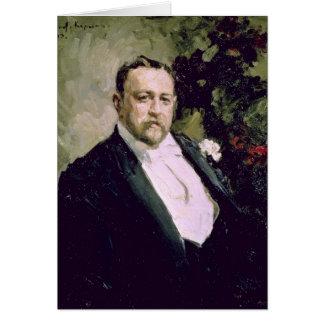 Carte Portrait d'Ivan Morosov 1903