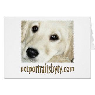 Carte Portraits d'animal familier par Ty