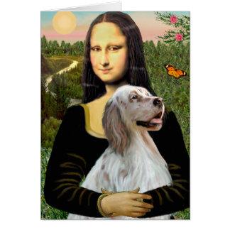 Carte Poseur anglais 1 - Mona Lisa