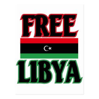 Carte Postale ليبياالحرة libre de la Libye - Libye