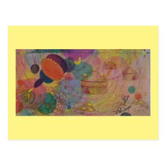 Carte postale 12 d'art : Fantasty organique -