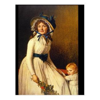 Carte Postale 1795) _Portraits de Madame Seriziat (