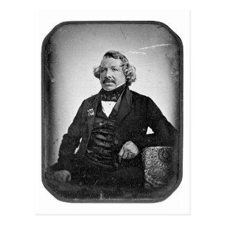 Carte Postale ~ 1844 de Daguerre de Mande de Louis Jacques