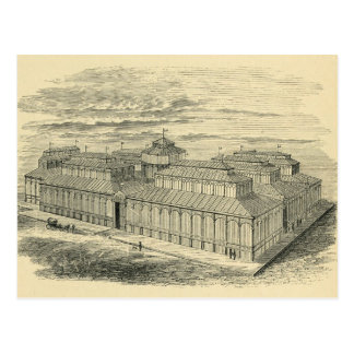 Carte Postale 1877 plazas de dessin de la Cebada Madrid