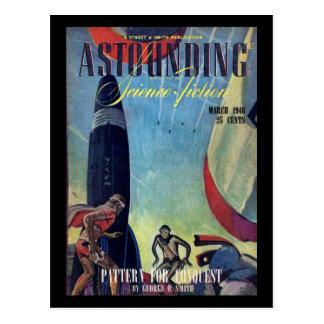 Carte Postale 1946-03] arts stupéfiant de cover_Pulp de v037 n01