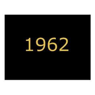 CARTE POSTALE 1962