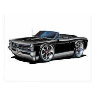 Carte Postale 1966/67 convertible noir de GTO