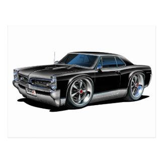 Carte Postale 1966/67 voiture noire de GTO