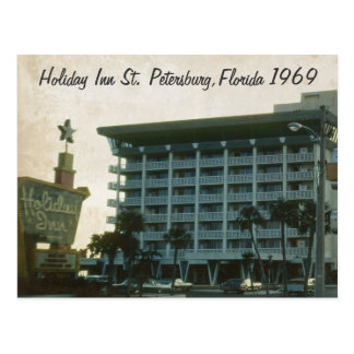 Carte postale 1969 de Holiday Inn St Petersburg la