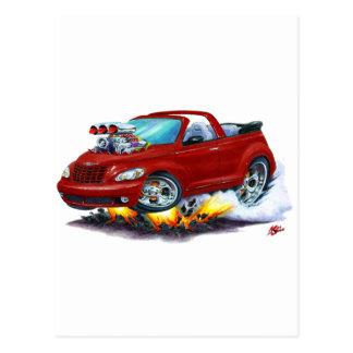 Carte Postale 2008-10 convertible de rouge foncé de croiseur de