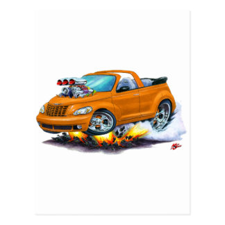 Carte Postale 2008-10 convertible orange de croiseur de pinte