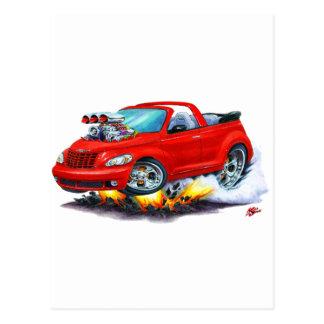 Carte Postale 2008-10 convertible rouge de croiseur de pinte