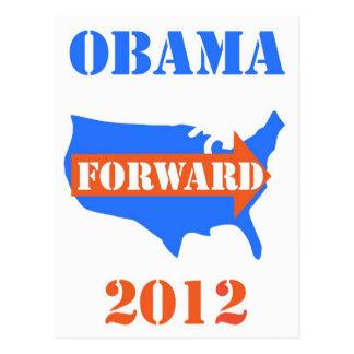 carte postale 2012 d'obama