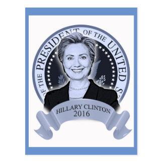 Carte postale 2016 de Hillary Clinton