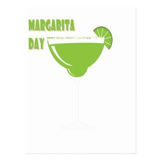 Carte Postale 22 février - jour de margarita - jour