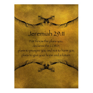 Carte Postale 29:11 de Jérémie