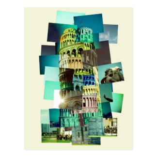 Carte Postale 30 shots of Pisa (yellow background)