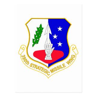 Carte Postale 390th Aile stratégique de missile