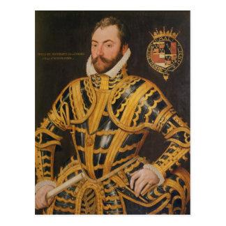 Carte Postale 3ème comte de William Somerset de Worcester