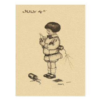Carte Postale 4 juillet